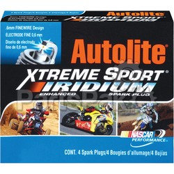 Autolite Spark Plugs XP64; Spark Plug Xp64 Xtreme Performance (Sold Individually); 2-WPS-4-XP64
