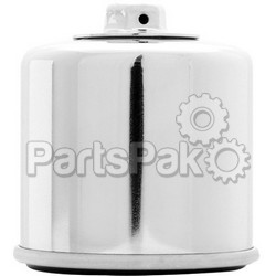 K&N KN-138C; Oil Filter (Chrome)
