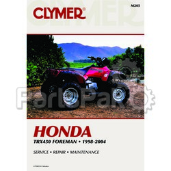 Clymer Manuals M205; Honda TRX450Fw 98-04 Foreman 450 Clymer Repair Manual