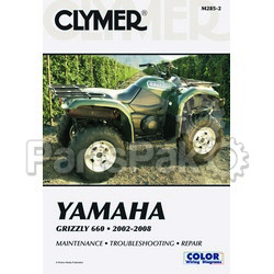 Clymer Manuals M285-2; M285 Yamaha 660 Grizzly Manual