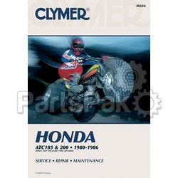 Clymer Manuals M326; Atc185 and 200,1980-1986 Clymer Repair Manual