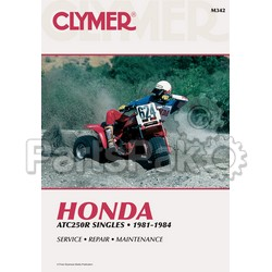 Clymer Manuals M342; Atc250 R 1981-84 Clymer Repair Manual