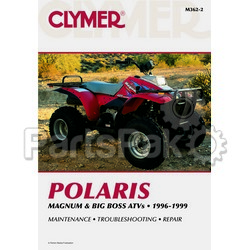 Clymer Manuals M362-2; M362 Polaris Magnum 95-98 Repair Manual