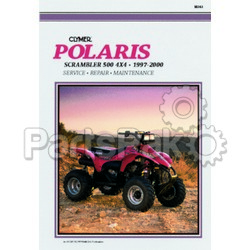 Clymer Manuals M363; Polaris Scrambler 500 4X4 97-00 Repair Manual