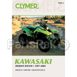 Clymer Manuals M385-2; M385 Kawasaki KSF250 Mojave 1987-2004 Repair Manual