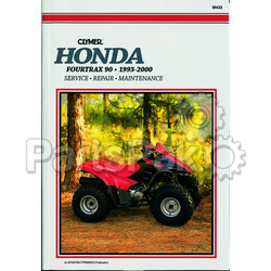 Clymer Manuals M433; Honda TRX90 1993-2000 Repair Manual