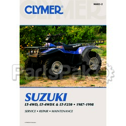 Clymer Manuals M483-2; M483 Lt-F250,Lt4Wd and Lt4Wdx 1987-1998 Clymer Rep.Man.; 2-MCD-RM483