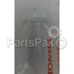 Honda 95822-10025-08 Bolt, Flange (10X25); New # 95701-10025-08; HON-95822-10025-08