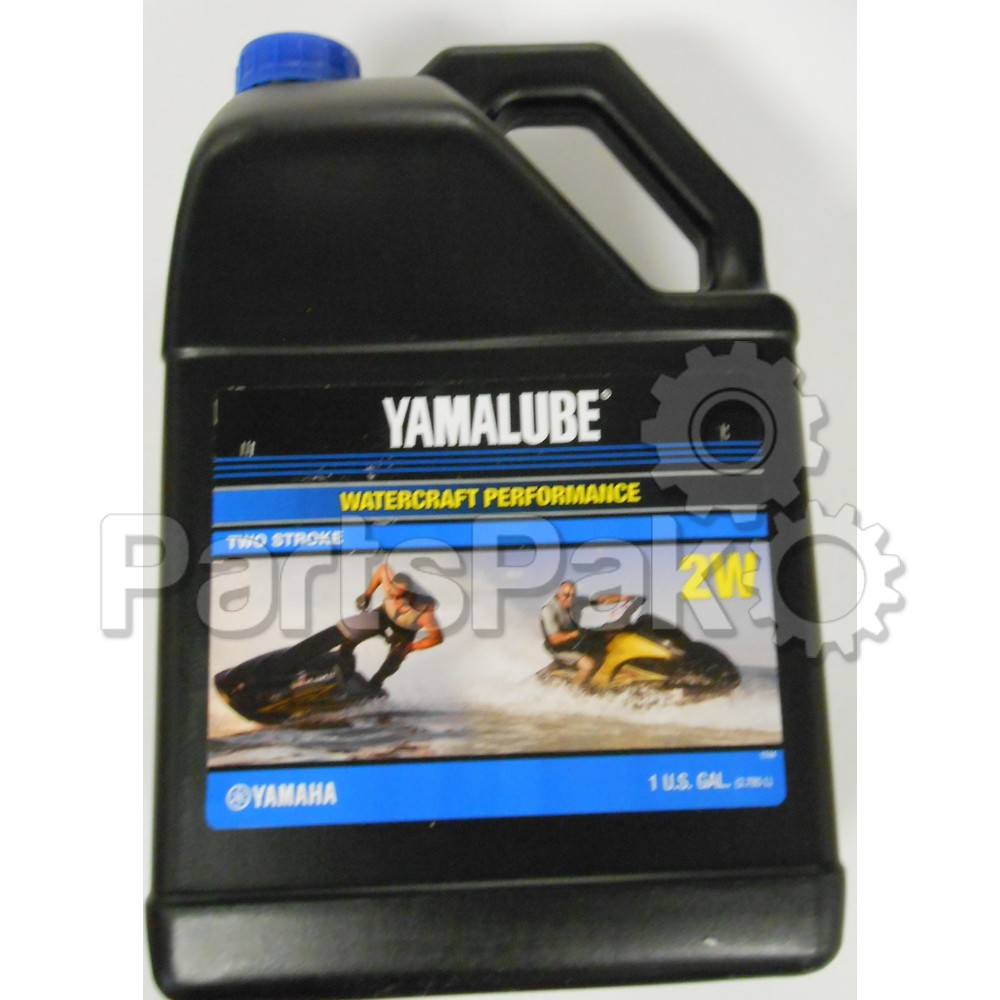 Yamaha LUB-2STRK-W1-04 Yamalube 2W Watercraft 2-stroke oil Waverunner  Gallon (Case of 4 Gallon Bottles)