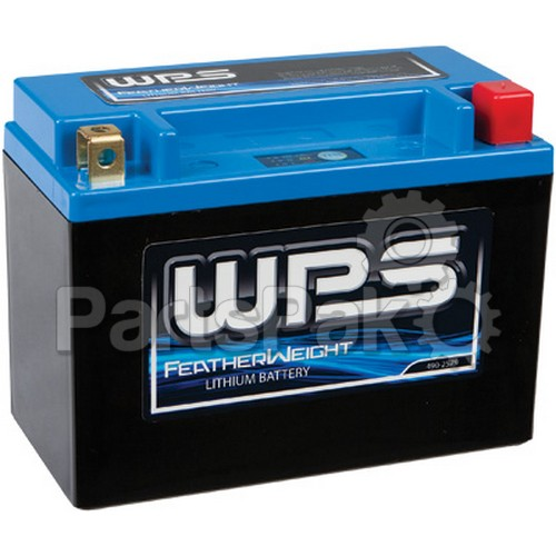 WPS - Western Power Sports HJTX14H-FP-IL; Featherweight Lithium Battery 240 Cca Hjtx14H-Fp-Il 12V / 48Wh