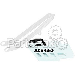 Acerbis 2314060002; Chain Guide / Slider Kit White Honda