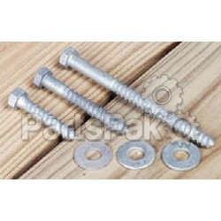 Tie Down Engineering 24289; Dock Hdw Lag Bolt 3/8X3 8/Bag