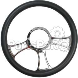 Closeout POLISHED; 3 Blade Steering Wheel