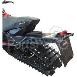 Skinz ACRB450-AL; Bumper Rear Arctic Cat Flat Black Procross 141