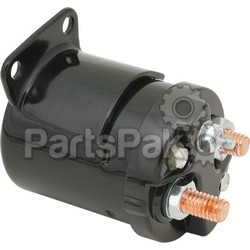 Accel 40111B; Starter Solenoid - Single Bracket Black