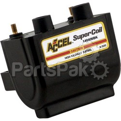 Accel 140406BK; Dual Fire Super Coil 4.7 Ohm Black
