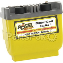 Accel 140407; Dual Fire Super Coil 2.3 Ohm Yellow
