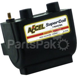 Accel 140407BK; Dual Fire Super Coil 2.3 Ohm Black