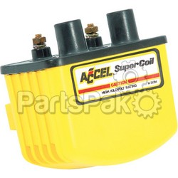 Accel 140408; Single Fire Super Coil 3.0 Ohm Yellow