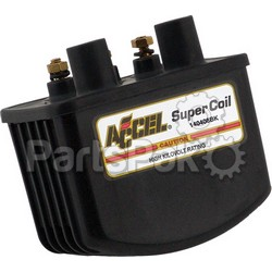 Accel 140408BK; Single Fire Super Coil 3.0 Ohm Black