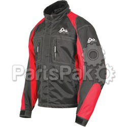 HMK HM7JACTWBRXS; Womens Action Jacket Black / Red Xs