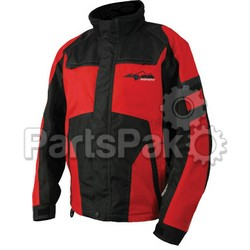 HMK HM7JVOY2BRM; Voyager Jacket Black / Red M