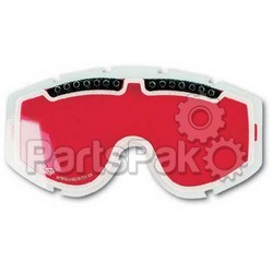 Progrip 3255-NO POST; Progrip Dual Lens Red Anti-Fog; 2-WPS-511-0031