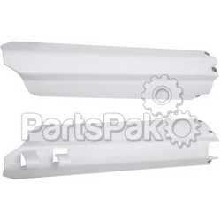 Acerbis 2114990002; Lower Fork Cover Set (White)