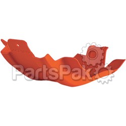 Acerbis 2215040237; Skid Plate Orange