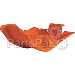 Acerbis 2250270237; Skid Plate Orange