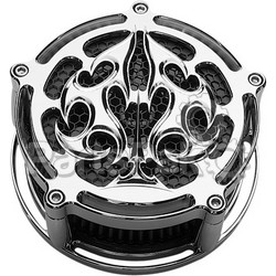 Precision Billet ACE-210-4H-CHR; Billet Air Cleaner Ace'S Wild (Chrome)