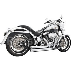 Freedom Performance Exhaust HD00031; Independence Long M8 Softail Chrome