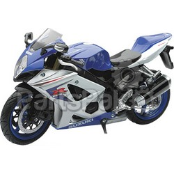 New-Ray 57003A; Replica 1:12 Super Sport Bike 08 Suzuki Gsx-R1000 Blue