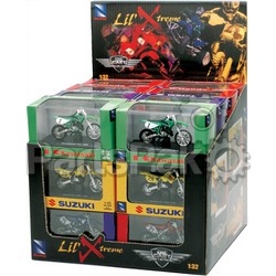 New-Ray 06227B; Replica 1:32 Atv Set Assorted Atv / Race Bike Models