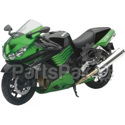 New-Ray 57433B; Replica 1:12 Super Sport Bike 11 Kawasaki Zx14 Green