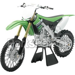 New-Ray 49403; Replica 1:6 Race Bike 12 Kawasaki Kx450F Green