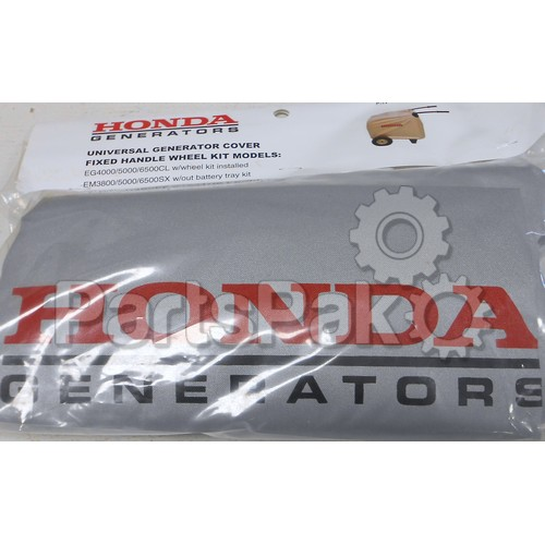 Honda 08P58-Z22-600 Fixed Handle Generator Cover; 08P58Z22600