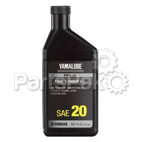 Yamaha ACC-11001-28-20 Fork Oil 20Wt 12Cs (UPS Ground Shipping Only); New # ACC-FORKF-00-20