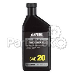 Yamaha ACC-11001-28-20 Fork Oil 20Wt 12Cs (UPS Ground Shipping Only); New # ACC-FORKF-00-20; YAM-ACC-11001-28-20