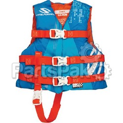 Stearns 3000002208; PFD Life Jacket Child Watersport Blue; LNS-106-3000002208