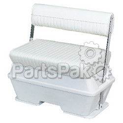 Wise Seats 8WD159784; 50 Quart Swingback Cooler Seat Wh