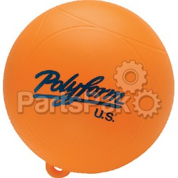 Polyform WS1ORG; Ws-1 Orange 8 inch Waterski Buoy