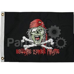 Taylor Made 1610; Flag 12 inch x 18 inch Pirate Zombie