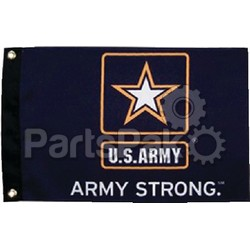 Taylor Made 1620; Flag 12 inch X 18 inch  Army Strong
