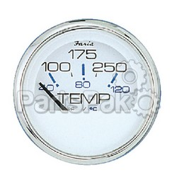 Faria 13813; Chesapeake Stainless Steel White Hourmeter