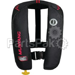 Mustang Survival MD201602264; Mit 100 Inflatable Pfd Auto Black/Pink Life Jacket; LNS-693-MD201602264