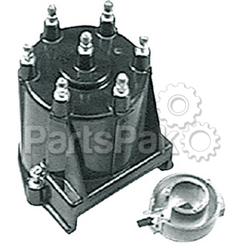 Mercury - Mercruiser 850484T 3; Cap and Rotor Kit-Delco Hei Ignition-