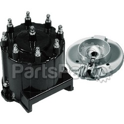 Mercury - Mercruiser 808483Q 2; Distributor Cap and Rotor Kit-Delco Hei Ignition-