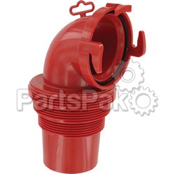 Valterra F023112; Ez Coupler 90 Degree Bayonet Sewer Fitting