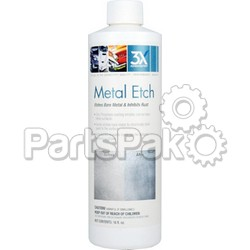 3X Chemistry 135; Metal Etch 16 Oz